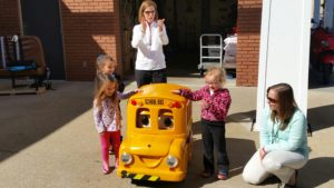 Buster the Bus at Early Childhood