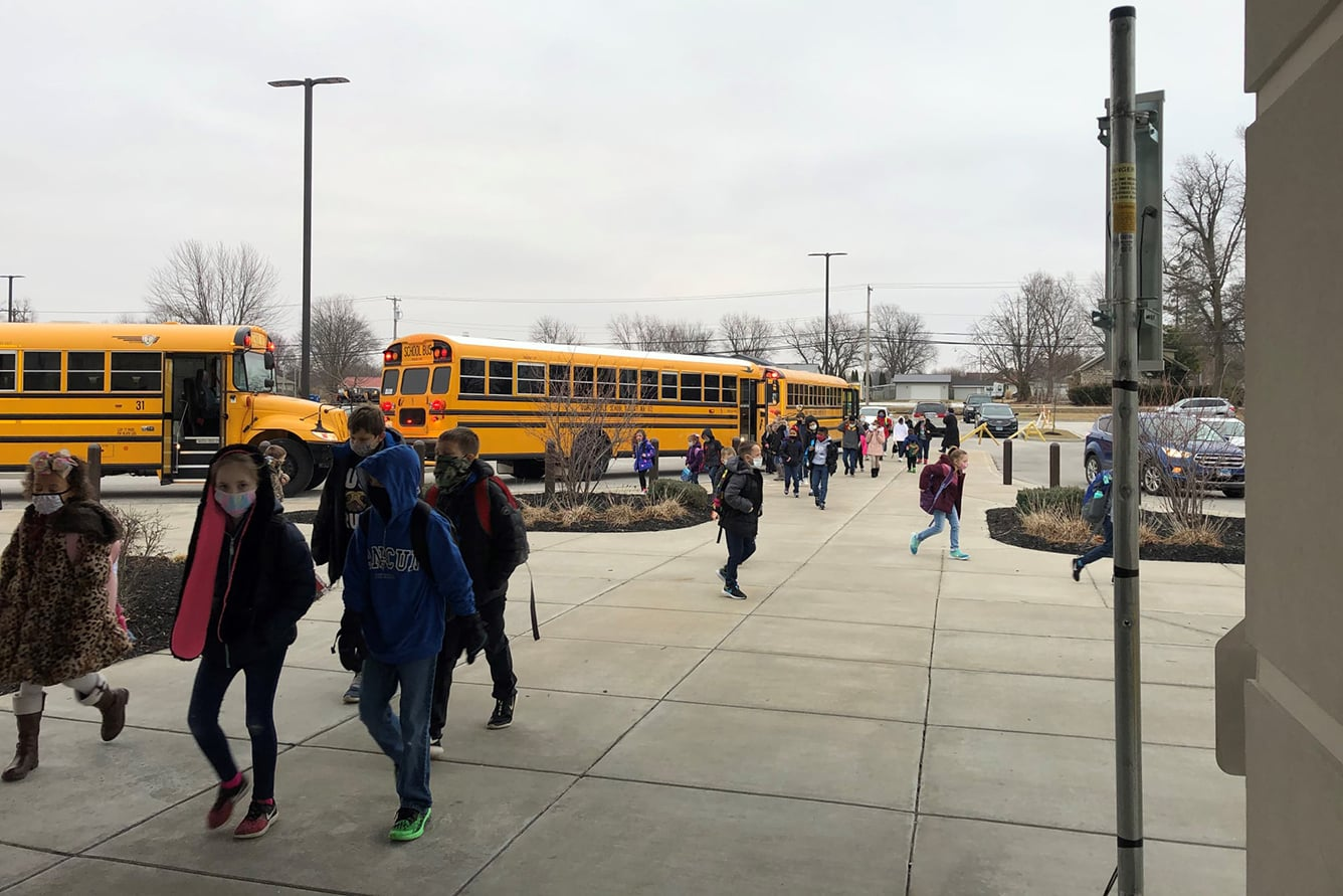 Quincy Public Schools Buses