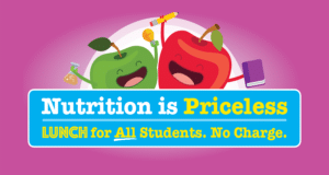 Nutrition is priceless. Lunch is free