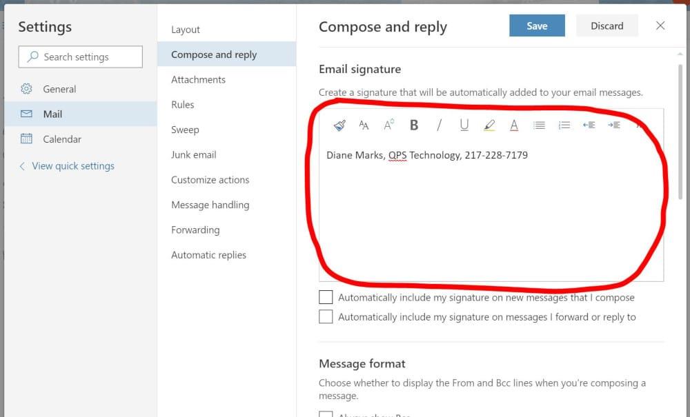email-signature-settings