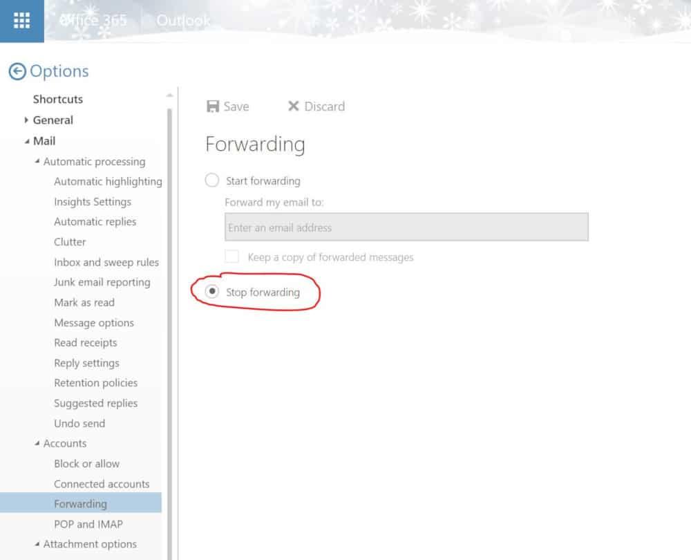 email-forwarding-settings