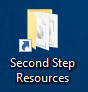 Second Step Icon